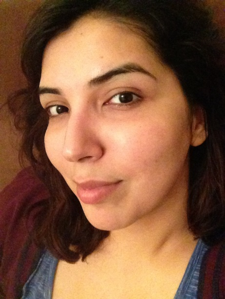 No Makeup, No Filter (Or Skincare) selfie after cleansing my face with Clean & Clear Blackhead Removing Scrub.