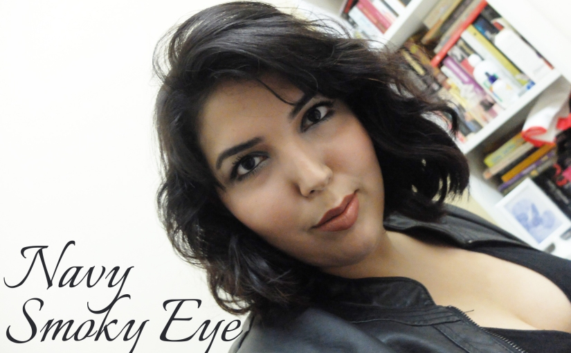 BLOGMAS 6 – Navy Smoky Eye