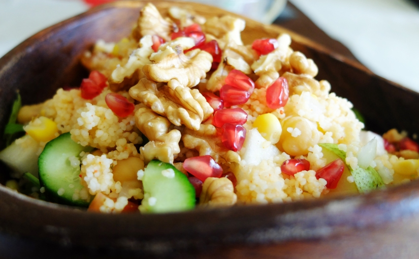 20-Minute Hearty Couscous Salad
