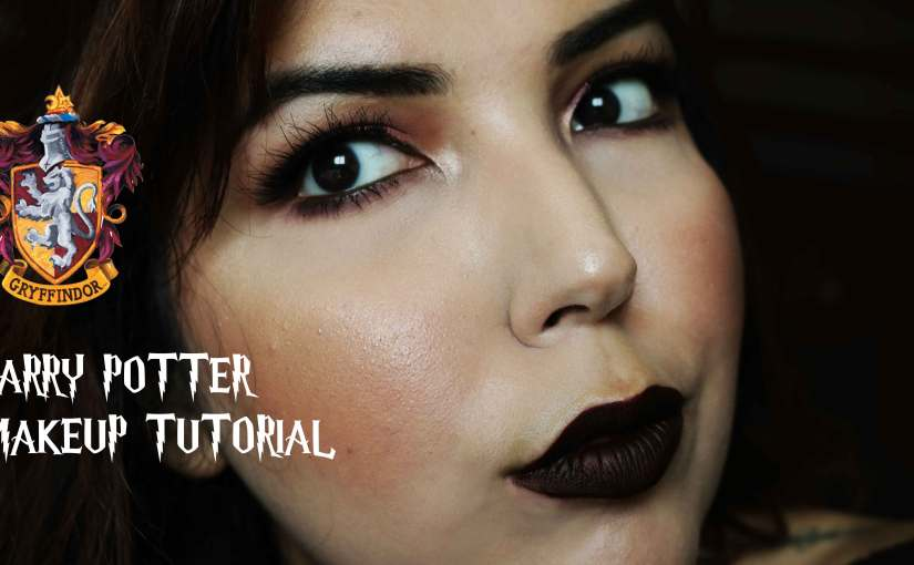 HARRY POTTER MAKEUP TUTORIAL | GRYFFINDOR